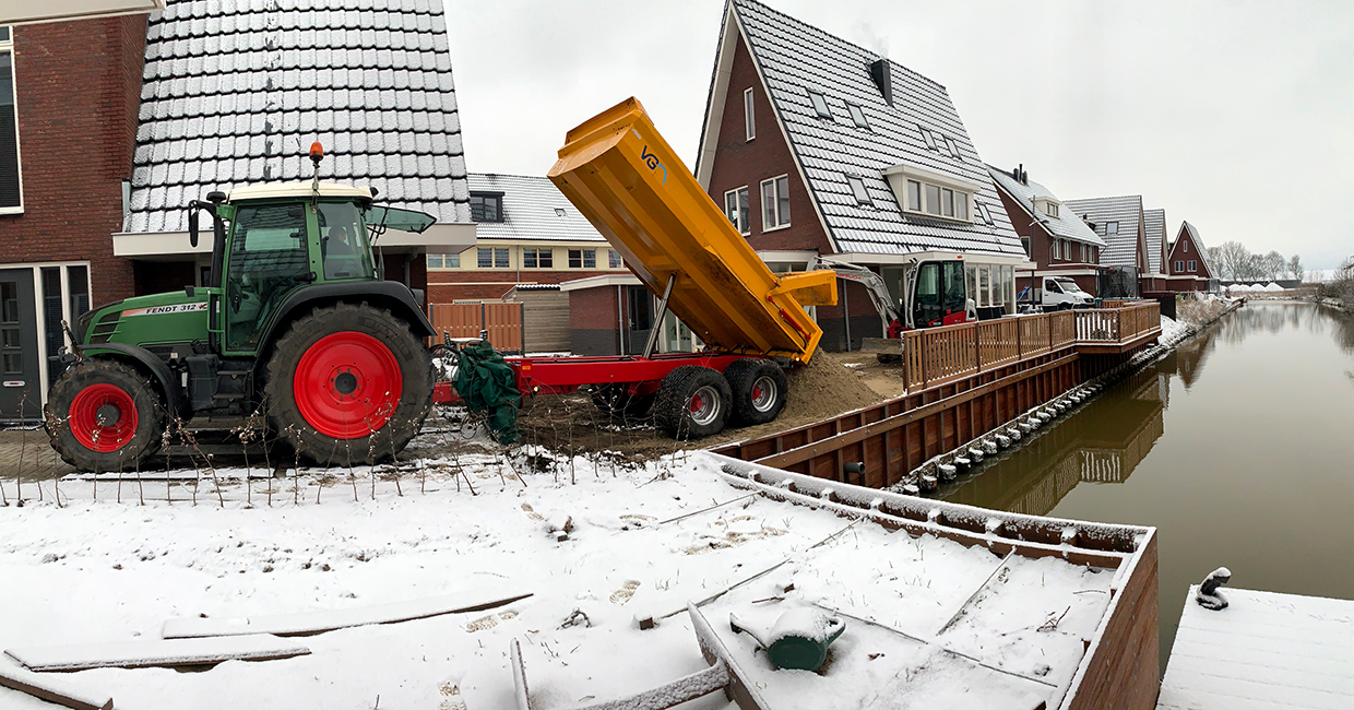 Machineverhuur en loonwerk in Noord-Holland